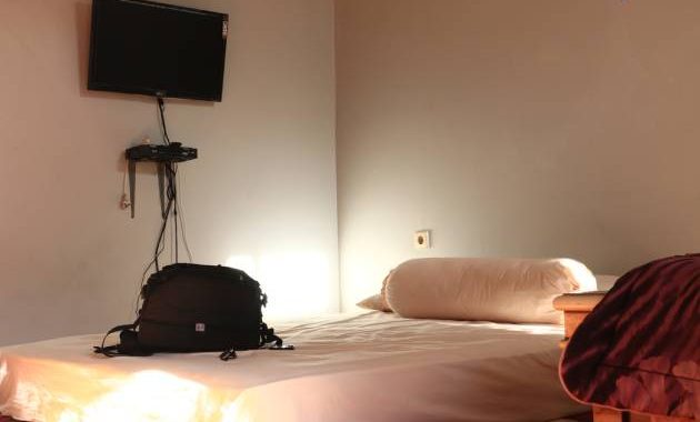 Kamar HS Homestay terletak di lantai 2