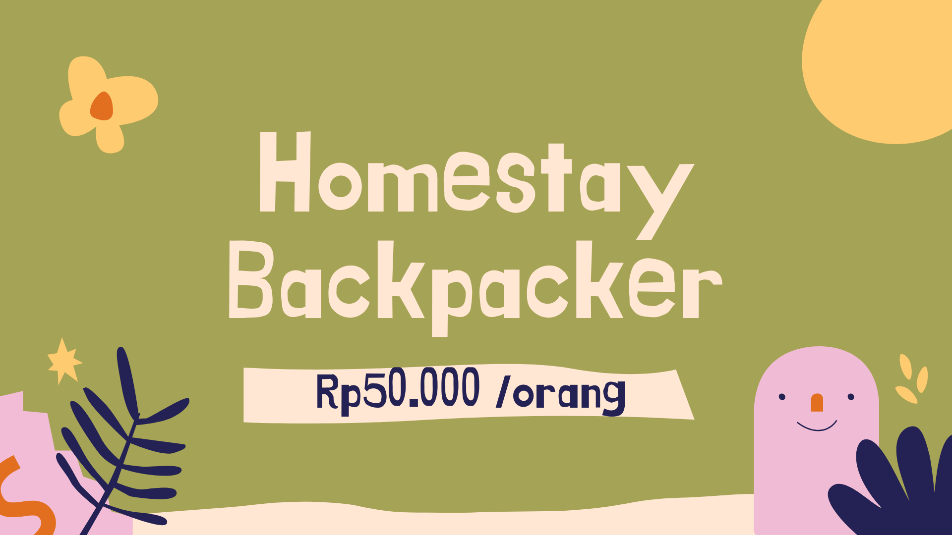 Homestay Backpacker Dieng