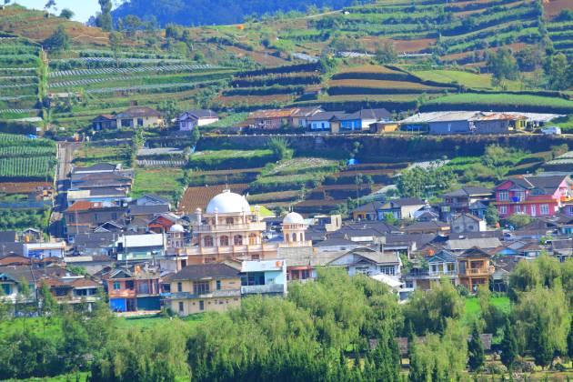Desa-desa di kawasan pegunungan Dieng dan sekitarnya