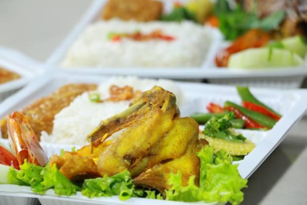 paket catering Dieng nasi ayam spesial