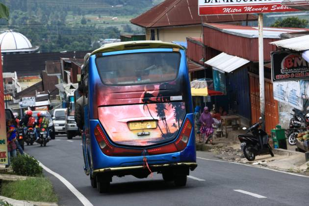 Angkutan umum (Transportasi) ke Dieng dari Wonosobo